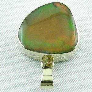 6.47 gr. Gold pendant with 12.39 ct Welo Opal, pic4