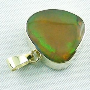 6.47 gr. Gold pendant with 12.39 ct Welo Opal, pic5