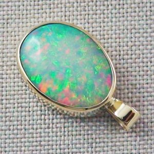 3.81 gr. 14k Gold pendant with 6.99 ct Top Welo Opal, pic3