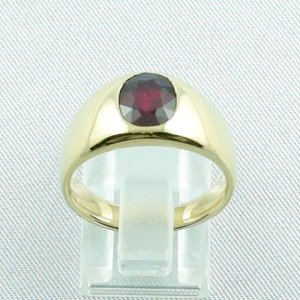12,80 gr rubyring, 18k goldring, ladies ring with ruby, pic4