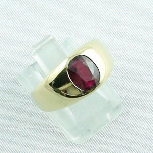 12,80 gr rubyring, 18k goldring, ladies ring with ruby, pic6