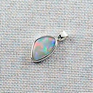 3.76 gr Silver Necklace with Opal-Pendant, White Opal, pic2
