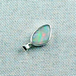 3.76 gr Silver Necklace with Opal-Pendant, White Opal, pic5