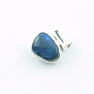 1,36 gr opalpendant, silver pendant 925 with black opal 1,66 ct, pic2