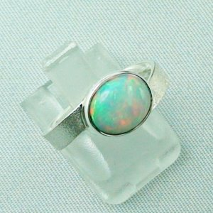 3.87 gr opalring, silverring with Welo opal 1.69 ct, ladies ring, pic6