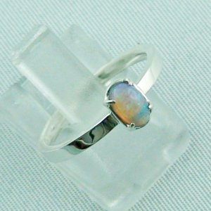 Opalring, designer ring, 0.39 ct Top Black Crystal Opal, pic6