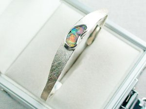 27.02 gr bangle silver 935 with Boulder opal 3.26 ct, pic6