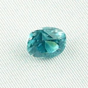 3.92 ct zircon gemstone jewelry stone 9.08 x 7.75 x 6.02 mm