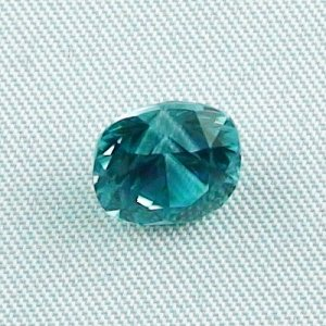 4.24 ct zircon gemstone jewelry stone 8.96 x 8.09 x 6.33 mm