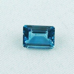 7.31 ct bluetopaz gemstone jewelry stone 12.56 x 9.55 x 6.05 mm