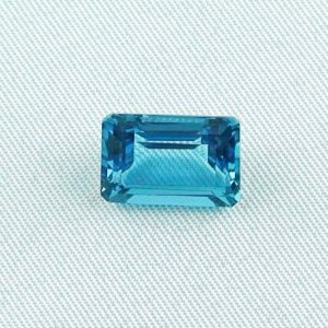 6.48 ct bluetopaz gemstone jewelry stone 12.55 x 8.75 x 5.86 mm