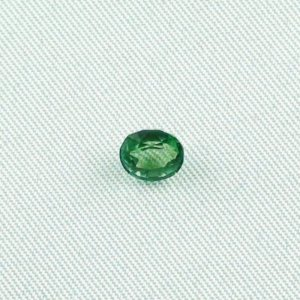 0.89 ct Tourmaline Verdelith gemstone 5.97 x 5.31 x 3.86 mm