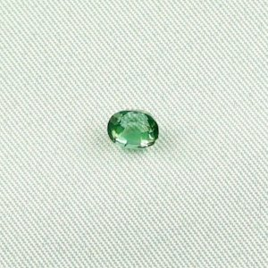 0.81 ct Tourmaline Verdelith gemstone 5.92 x 4.66 x 4.10 mm