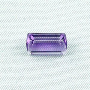 3.64 ct Amethyst gemstone jewelry stone 12.45 x 6.84 x 5.57 mm