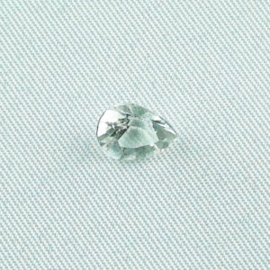 1,40 ct topaz white gemstone 8,20 x 6,33 x 4,68 mm