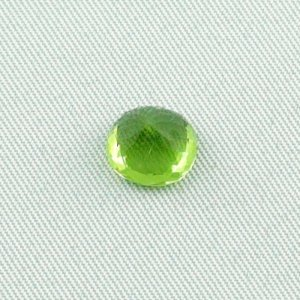 2.59 ct peridot gemstone jewelry stone 8.49 x 7.98 x 5.74 mm, pic5