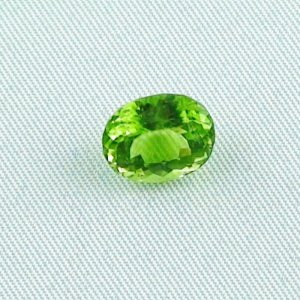 3.78 ct peridot gemstone jewelry stone 10.50 x 8.56 x 5.94 mm