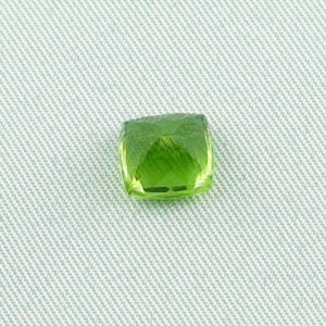 3.02 ct peridot gemstone jewelry stone 8.10 x 7.74 x 6.22 mm, pic5