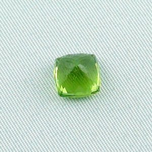 3.64 ct peridot gemstone jewelry stone 8.43 x 8.48 x 6.35 mm, pic5