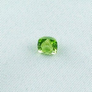 2.12 ct peridot gemstone jewelry stone 6.82 x 6.50 x 6.01 mm