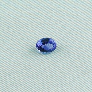 1.96 ct Tanzanite gemstone ringstone 9.00 x 6.89 x 4.66 mm