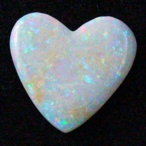 10.23 ct White Opal gemstone 23.50 x 22.42 x 3.33 mm