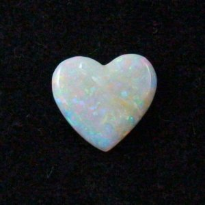 3.95 ct White Opal gemstone 14.84 x 13.92 x 3.06 mm