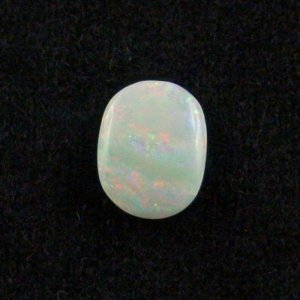 3.15 ct White Opal gemstone 12.57 x 9.54 x 3.84 mm