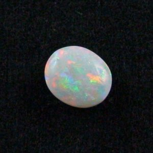 4.19 ct White Opal gemstone 11.82 x 10.25 x 5.66 mm