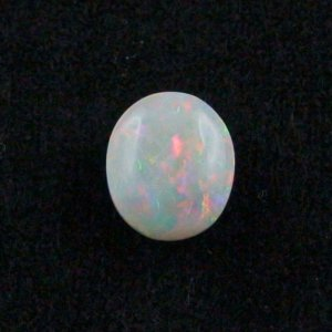 4.19 ct White Opal gemstone 11.82 x 10.25 x 5.66 mm, pic2