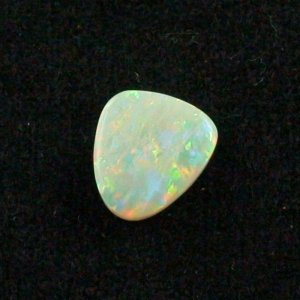 2.76 ct White Opal gemstone 11.60 x 10.44 x 3.19 mm, pic1