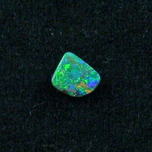 1.00 ct Boulder Opal gemstone 7.84 x 6.76 x 2.22 mm