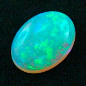 16.27 ct Black Crystal Opal gemstone 22.15 x 16.25 x 7.31 mm, pic6