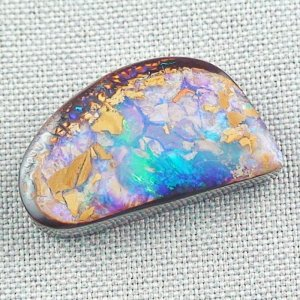 50.09 ct Boulder Opal Gemstone 32.49 x 18.62 x 7.84 mm, pic1