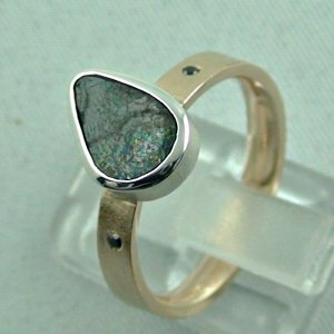 opalring, 8k goldring 4.83 gr. with opal, boulder opal 1.91 ct, pic3