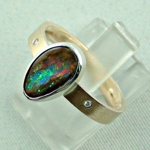 opalring, 8k goldring 4.91 gr. with boulder opal 2.32 ct, pic2