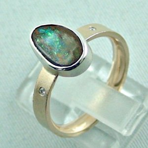 opalring, 8k goldring 4.91 gr. with boulder opal 2.32 ct, pic3