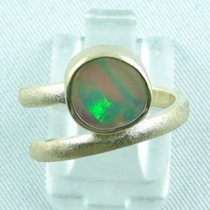 Opalring / 585er Goldring 14k mit 2,03 ct Welo Opal