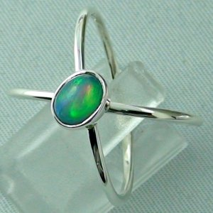 Ladies ring, opalring, 2.86 gr silverring with Welo opal 0.82 ct, pic2