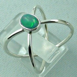 Ladies ring, opalring, 2.86 gr silverring with Welo opal 0.82 ct, pic3