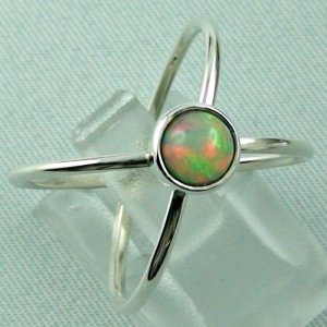 opalring, ladies ring, 2.69 gr silverring with Welo opal 0.78 ct, pic6