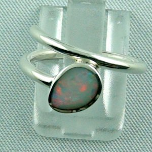 Opalring, 3,07 gr Silberring mit White Opal 0,67 ct, Damenring