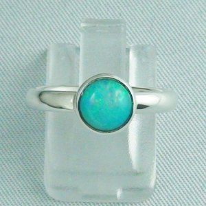 Opalring / Sterling Silberring mit 0,93 ct Welo Opal