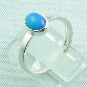 2.49 gr opalring, silver ring with Welo Opal 0.80 ct, pic3