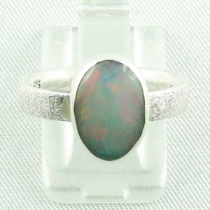 Opalring / Sterling Silberring mit 1,52 ct Welo Opal