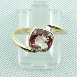 3.19 gr tourmalinering, 14k goldring, ladies ring with tourmaline 1.95 ct, pic1