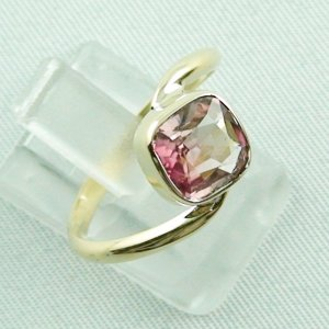 3.19 gr tourmalinering, 14k goldring, ladies ring with tourmaline 1.95 ct, pic6