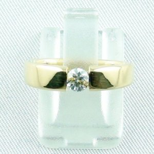 4.72 gr brilliantring, diamondring, gold ring 18k, diamond 0.30 ct