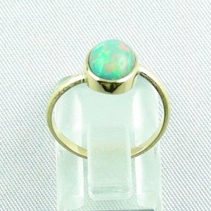 2.38 gr opalring, 18k / 750 goldring with 1.26 ct Welo Opal, pic4