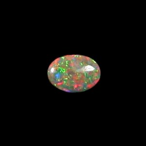 1.12 ct Black Crystal Opal Edelstein 9,95 x 7,26 x 2,59 mm